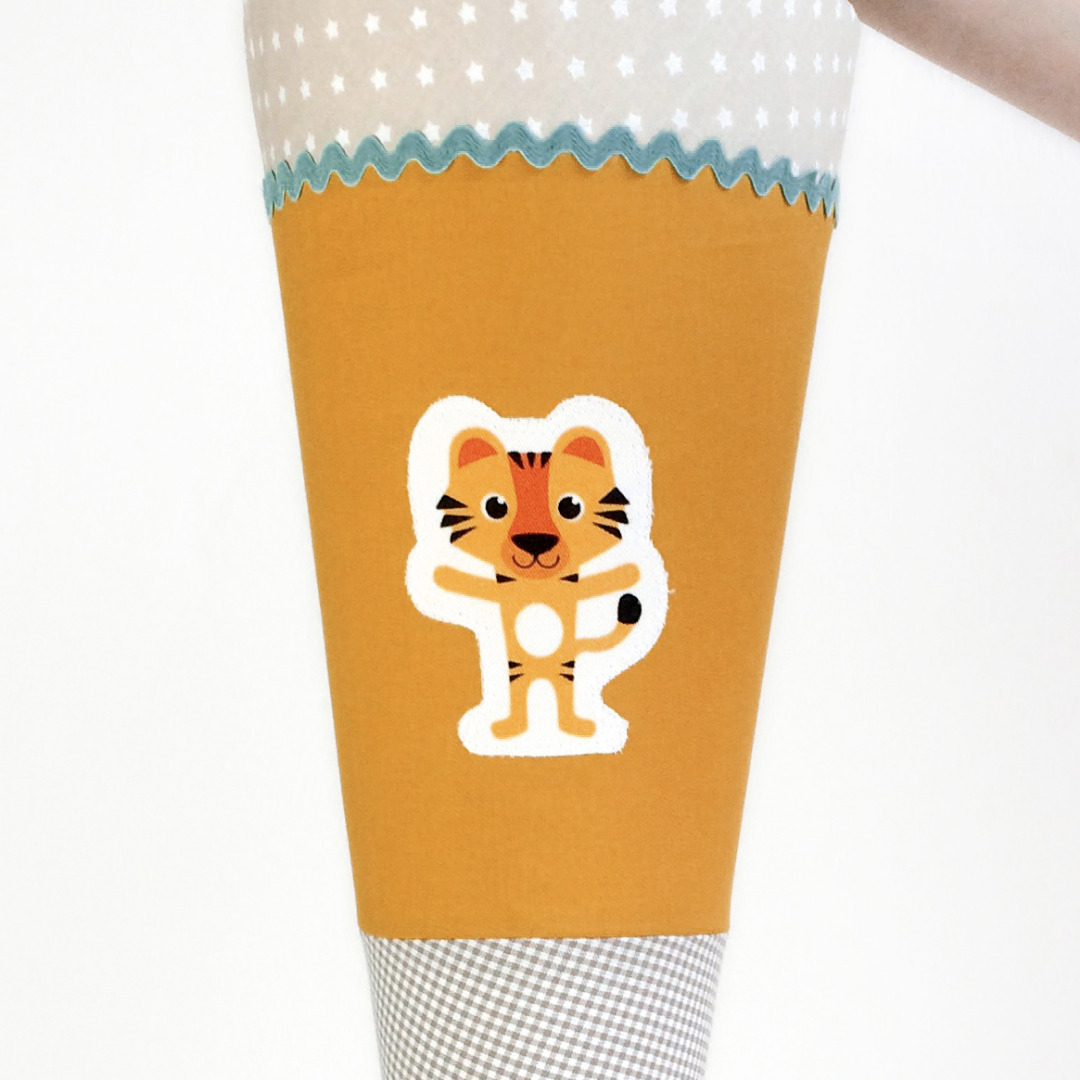 Schultüte Tiger, 70 cm