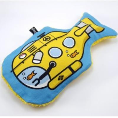 U-Boot Wärmflasche Yellow Submarine