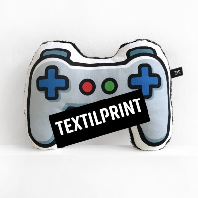 Textilprint zum selber nähen Controller Nackenkissen