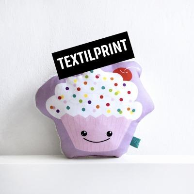 Textilprint zum selber nähen Cupcake