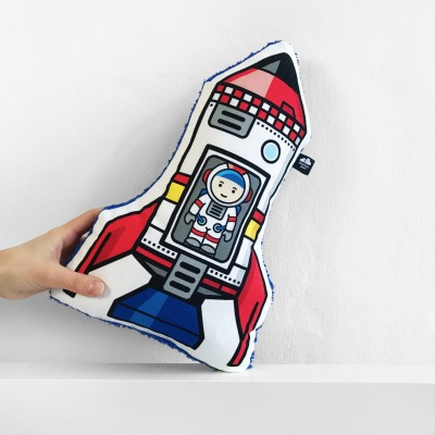 Raketenkissen Astroalex - Special Edition