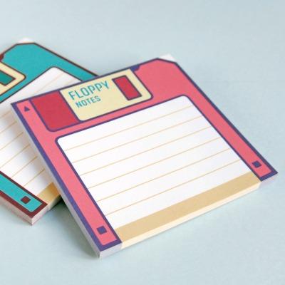 Notizblock im 2er Set Floppy Notes