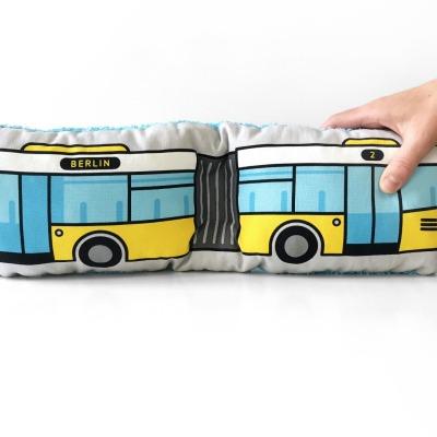 Bus Kissen Schlenkerbus groß Berliner Bus