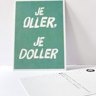 Postkarte je oller je doller Berliner