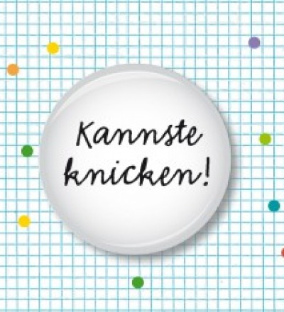 Button Kannste knicken