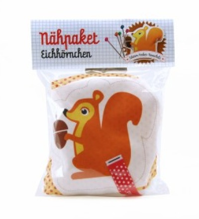 Nähpaket Eichhörnchen - DIY