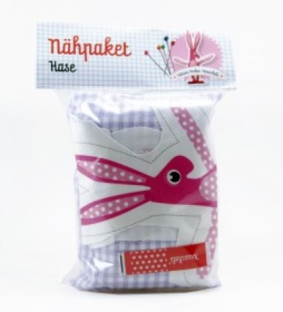 Nähpaket Pocketknuschel Hase