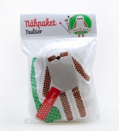 Nähpaket Pocketknuschel Faultier
