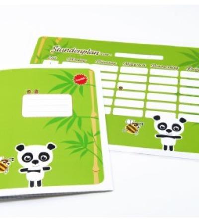 SET / Stundenplan & Schulheft Panda