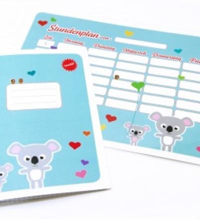 SET / Stundenplan & Schulheft Koala
