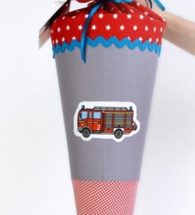 Schultüte Feuerwehr 70 cm