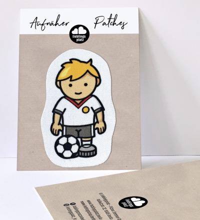 Aufnäher Fußballer Fussballaufnäher
