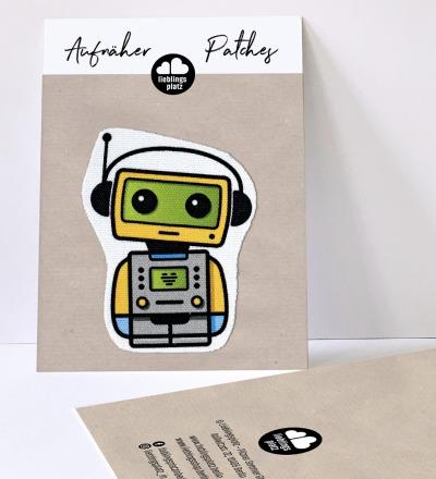 Aufnäher Roboter