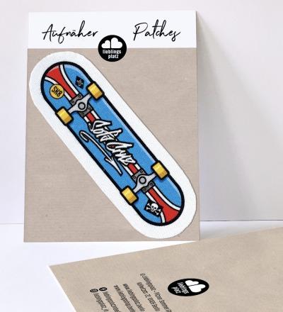 Aufnäher Skateboard