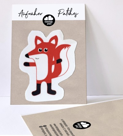 Aufnäher Fuchs