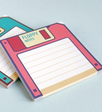 Notizblock im 2er Set - Floppy Notes