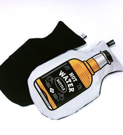 Whisky Waermflasche Hot Water Bottle