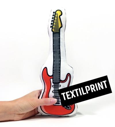 E-Gitarre RASSEL in rot