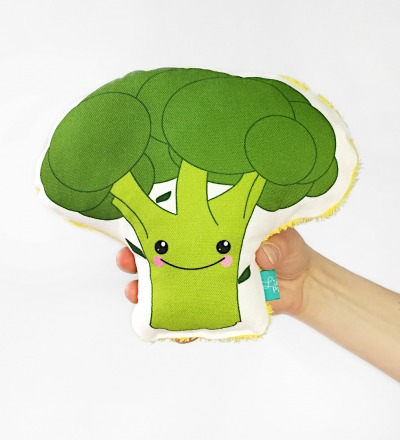 Brokkoli Rassel Gemueserassel Vegetable gesunde Rassel