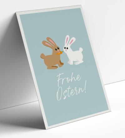 Postkartenset, Frohe Ostern, 5 Karten