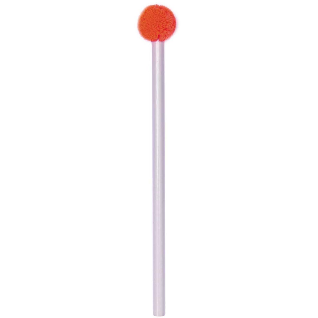 Bleistift mit POMPON flieder