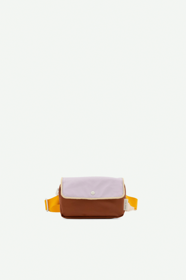 Gürteltasche small | Schokolade & Mauve