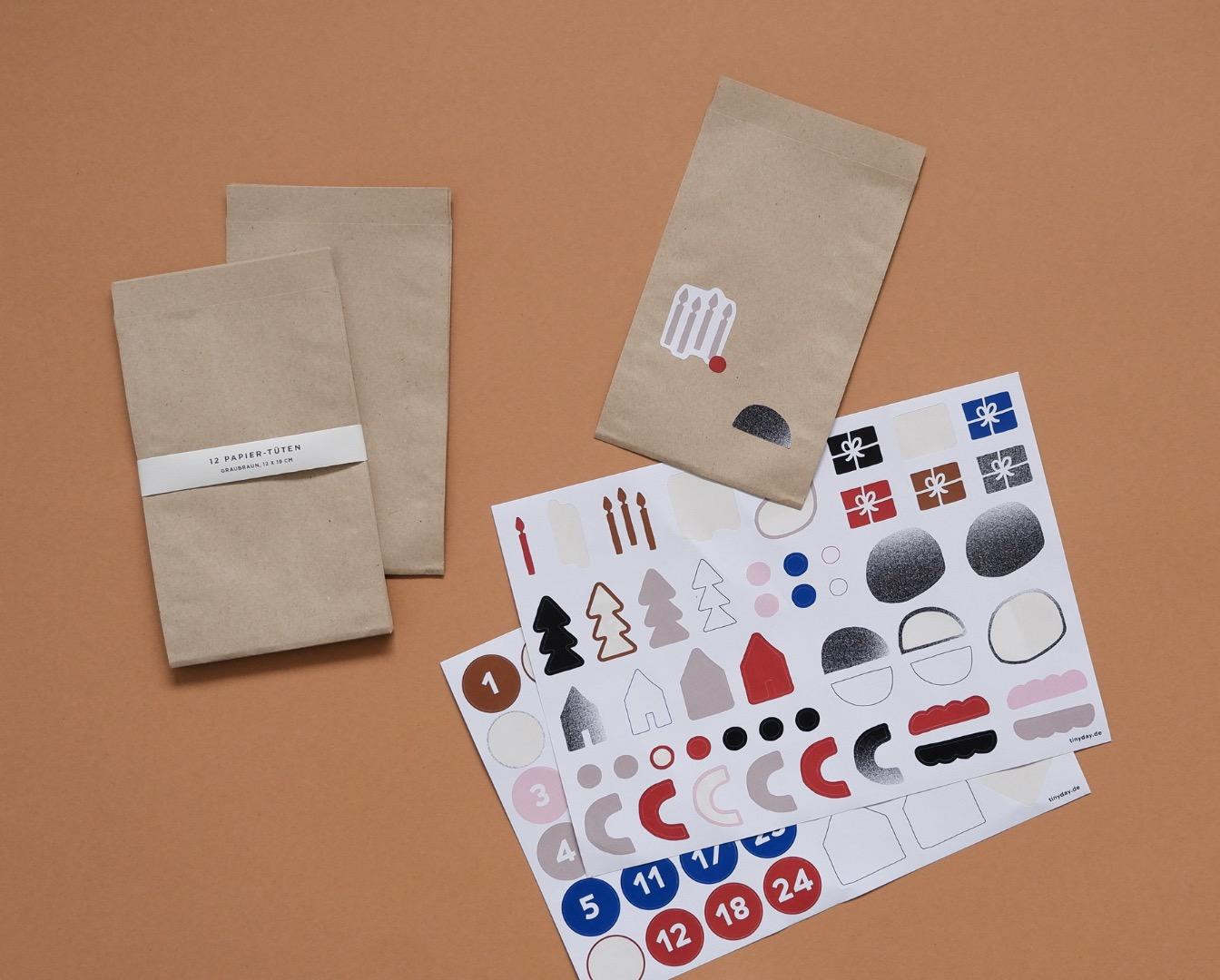 Papier-Tüten 12 Stück 2