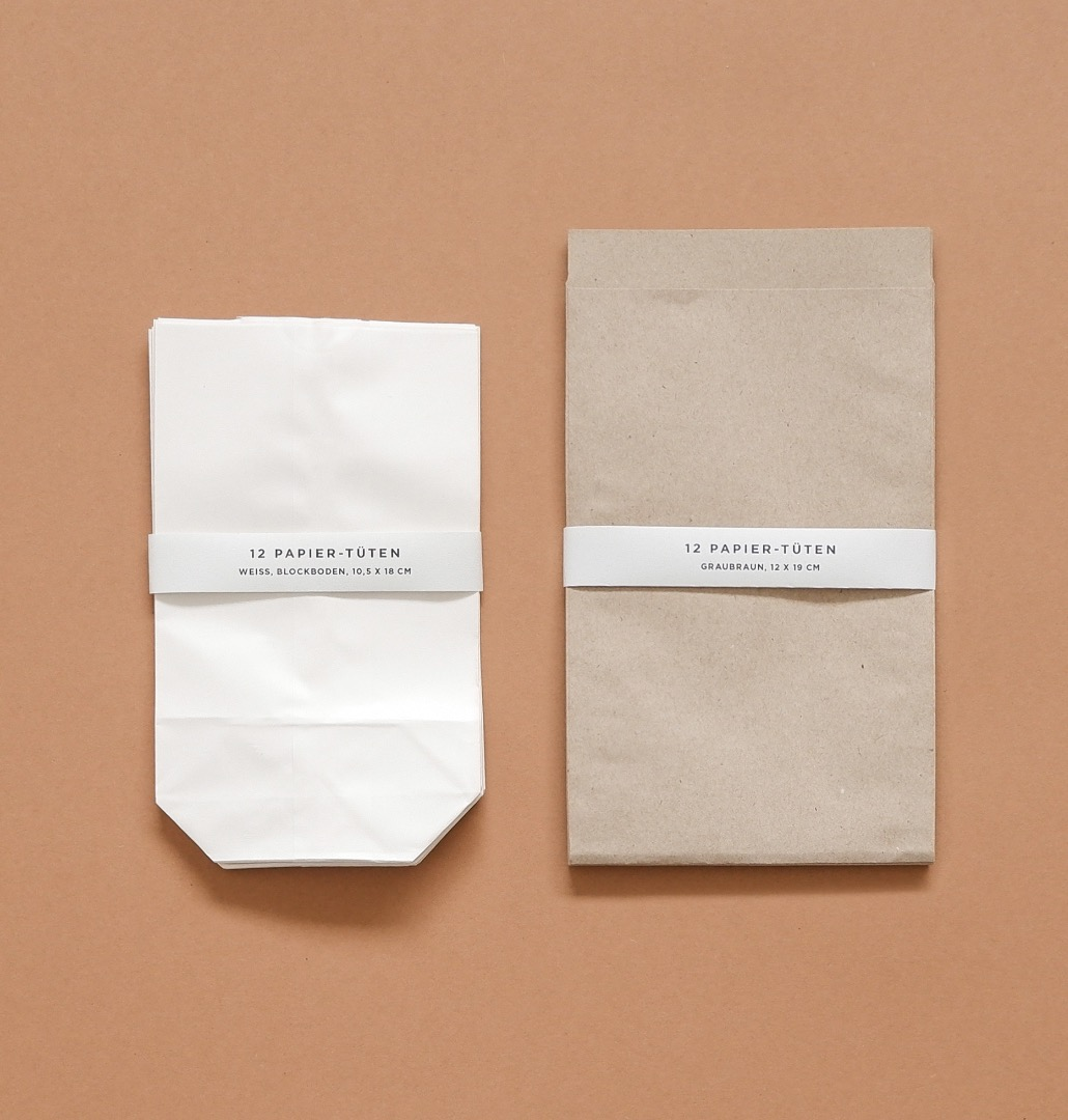Papier-Tüten 24 Stück