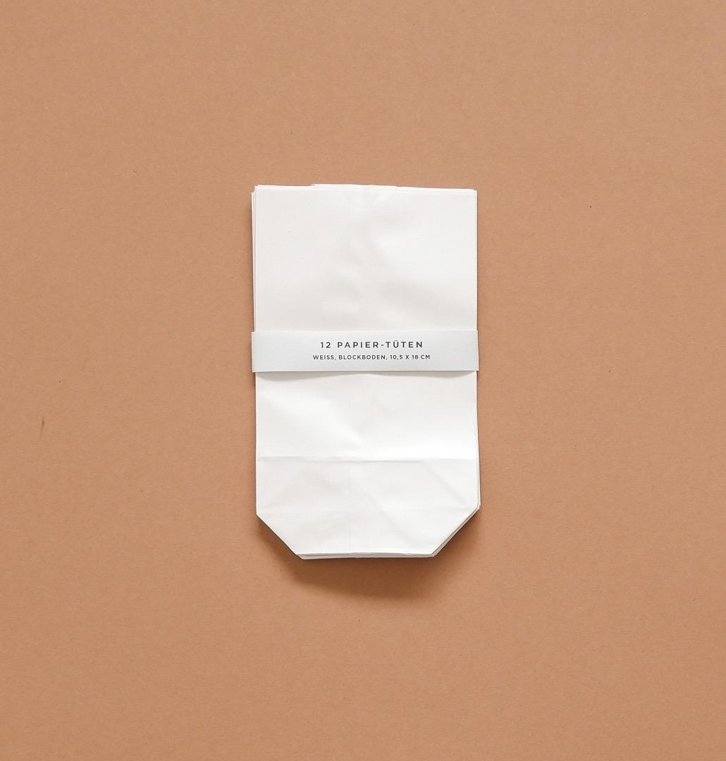 Papier-Tüten 12 Stück