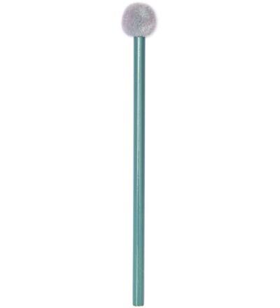 Bleistift mit POMPON gruen Rico Design