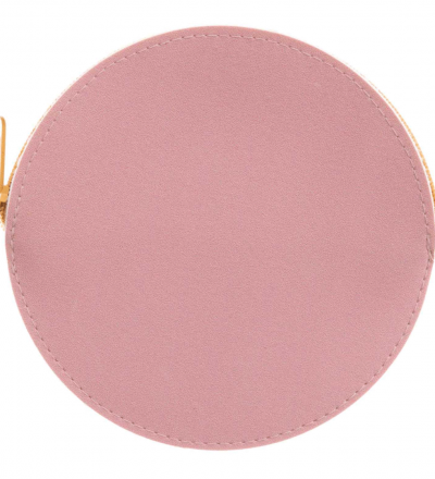 Geldbeutel rund - rosa