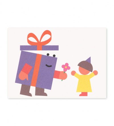 Geschenk - Postkarte