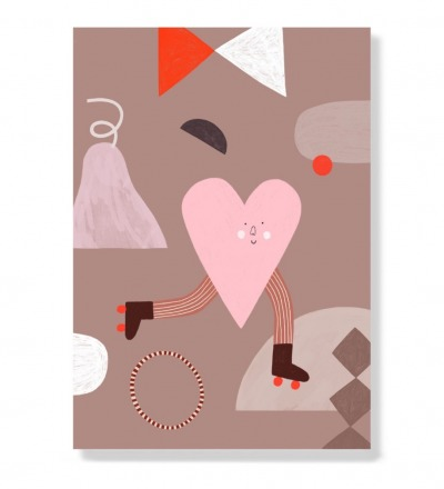 Heart - Postkarte
