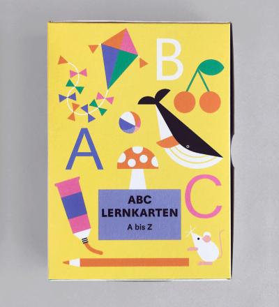 SET ABC-LERNKARTEN - Karten-SET