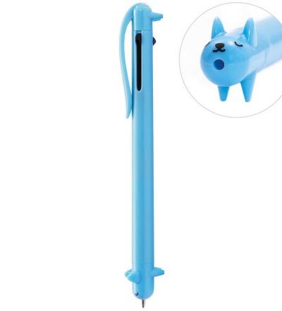 Kugelschreiber Hund blau - Rico Design