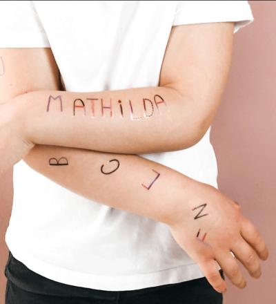 TATTOO ABC - Kinder-Tattoos