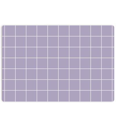 Kleines Schneidebrett | GRID lila -