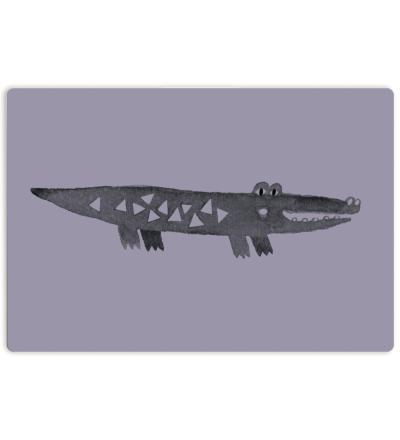 Kleines Schneidebrett   Krokodil - Schneidebrett