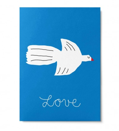 Lovebird - Postkarte