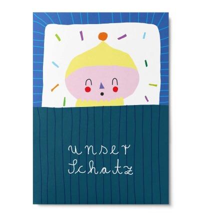 Unser Schatz - Postkarte