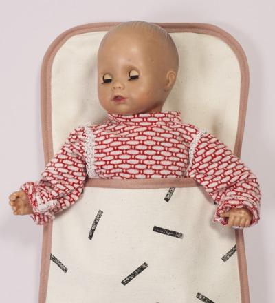 Puppenschlafsack | klein - Puppenschlafsack aus