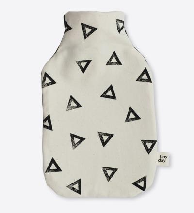 Wärmflasche | Motiv: dreieck - Wärmflasche