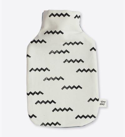 Wärmflasche Motiv: zickzack Wärmflasche zum kuscheln