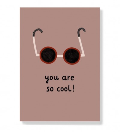 You are so cool - Postkarte