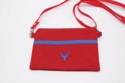 Sidebag SWALLOW rot Hirsch