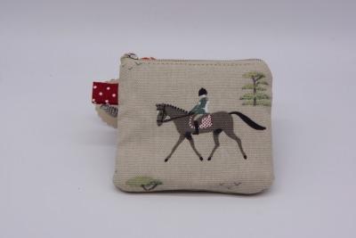 Reißverschlusstäschchen Mini HUMMINGBIRD Pferd