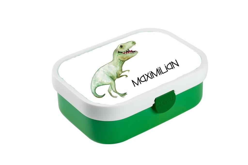 Brotdose mit Name Dino Trinkflasche personalisiert