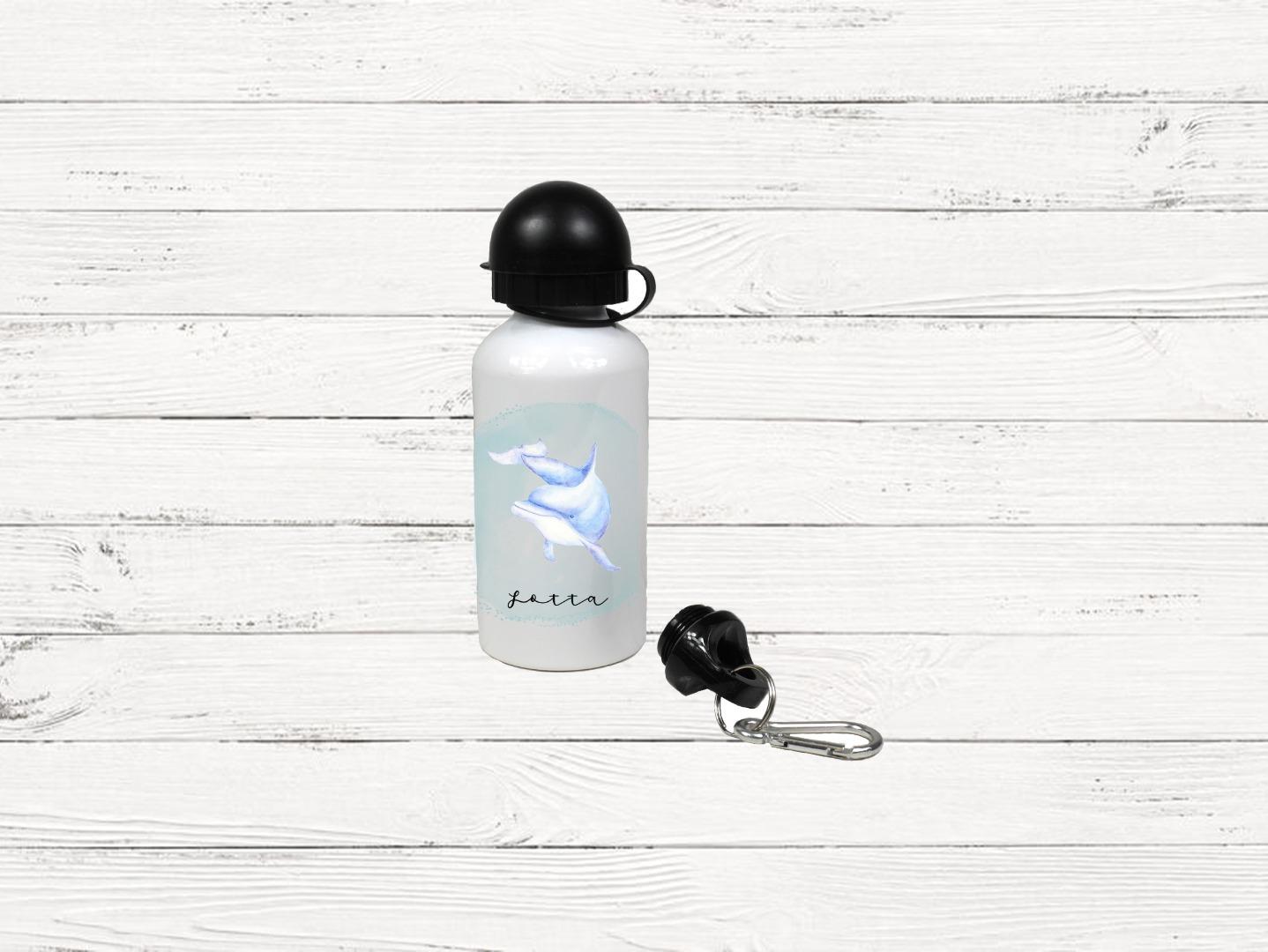 Brotdose mit Name Trinkflasche personalisiert Rakete