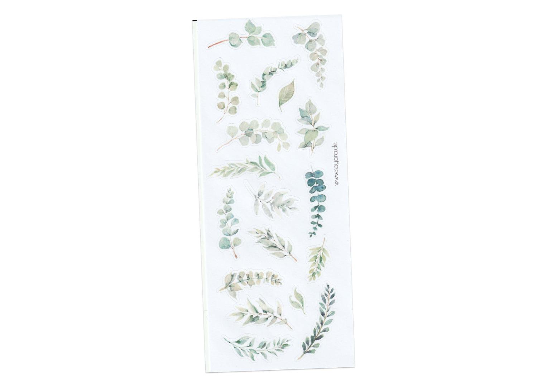 Sticker Eukalyptus 2