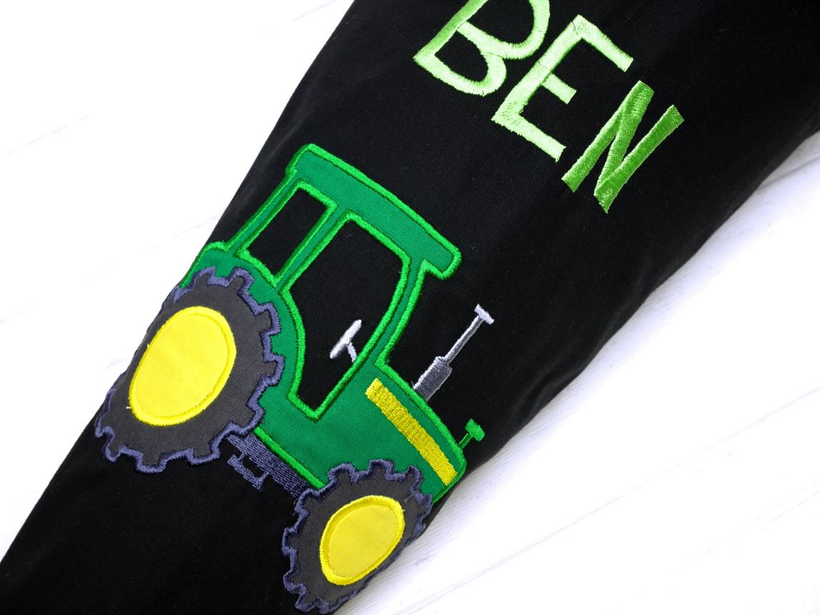 Schultüte Traktor Zuckertüte Trecker 70cm oder